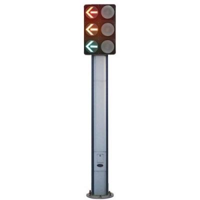 一体化三联双排单面组合灯杆