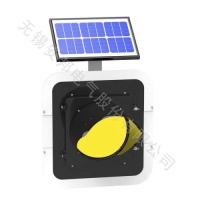 300压铸铝太阳能黄闪灯(单联)