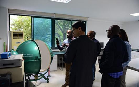 2019年11月14日 加纳客户来访